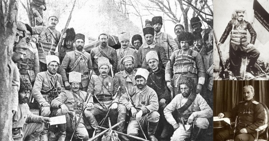 Andranik Ozanian - General of the Armenian volunteer units of the Russian Caucasian Army.