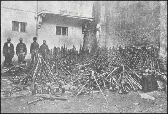 Russian arms cachet captured in Armenian village 1915