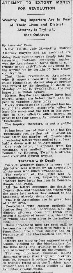 Associated Press. 26 July 1907