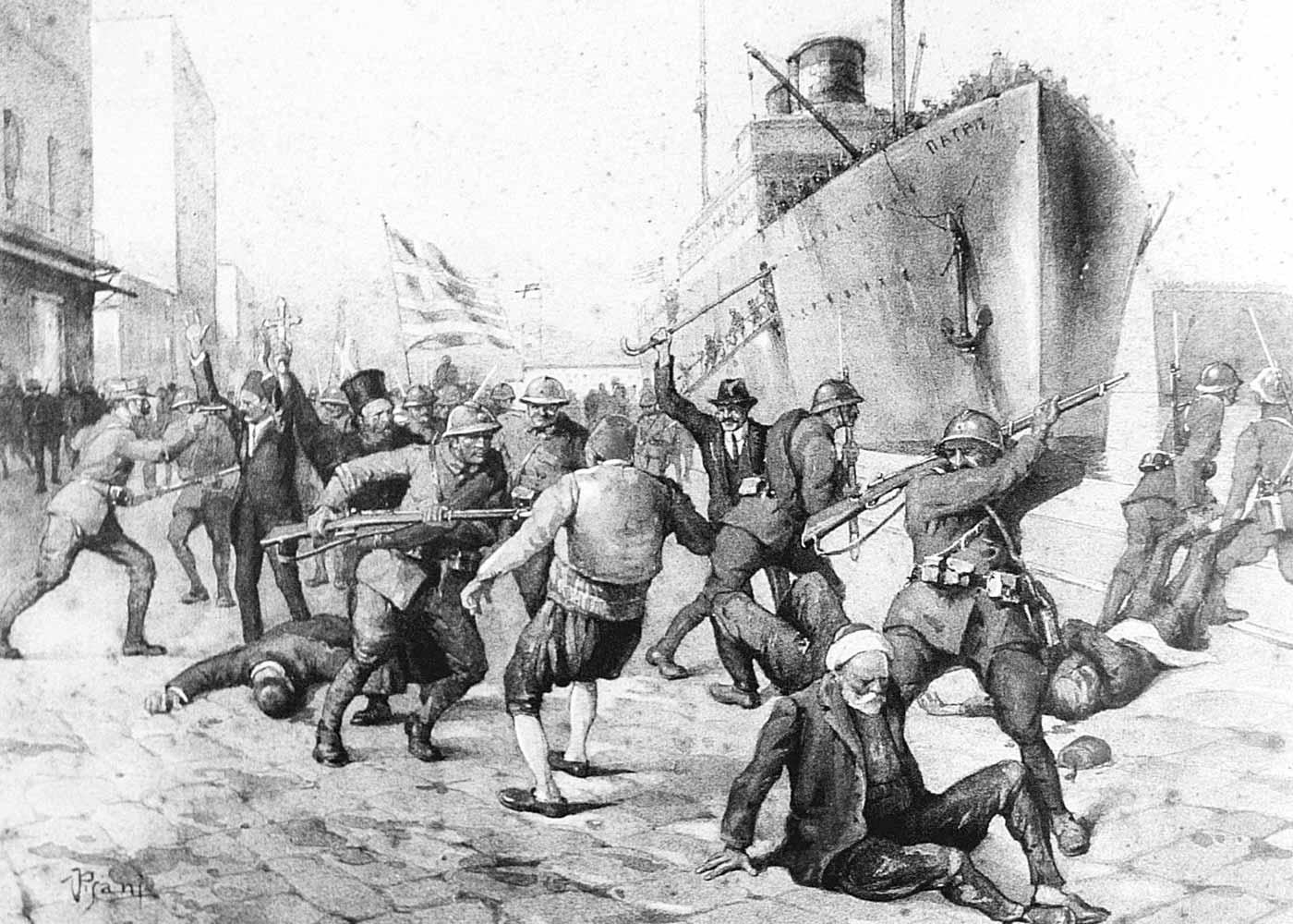 Who killed the Turks 17