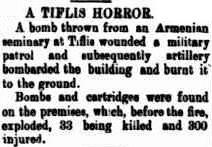 TIFLIS N. Western Advocate, 15 Jan 1906, p.3